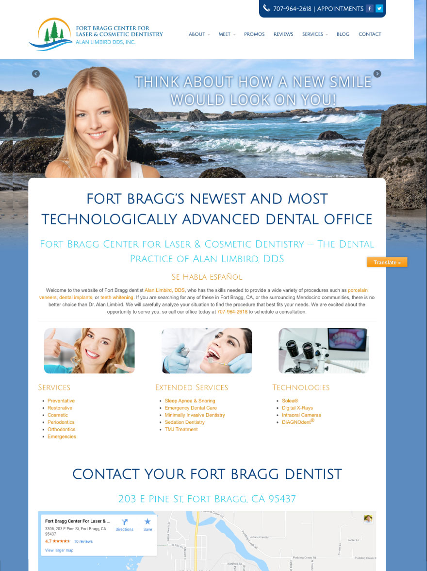 Fort Bragg Center for Laser & Cosmetic Dentistry