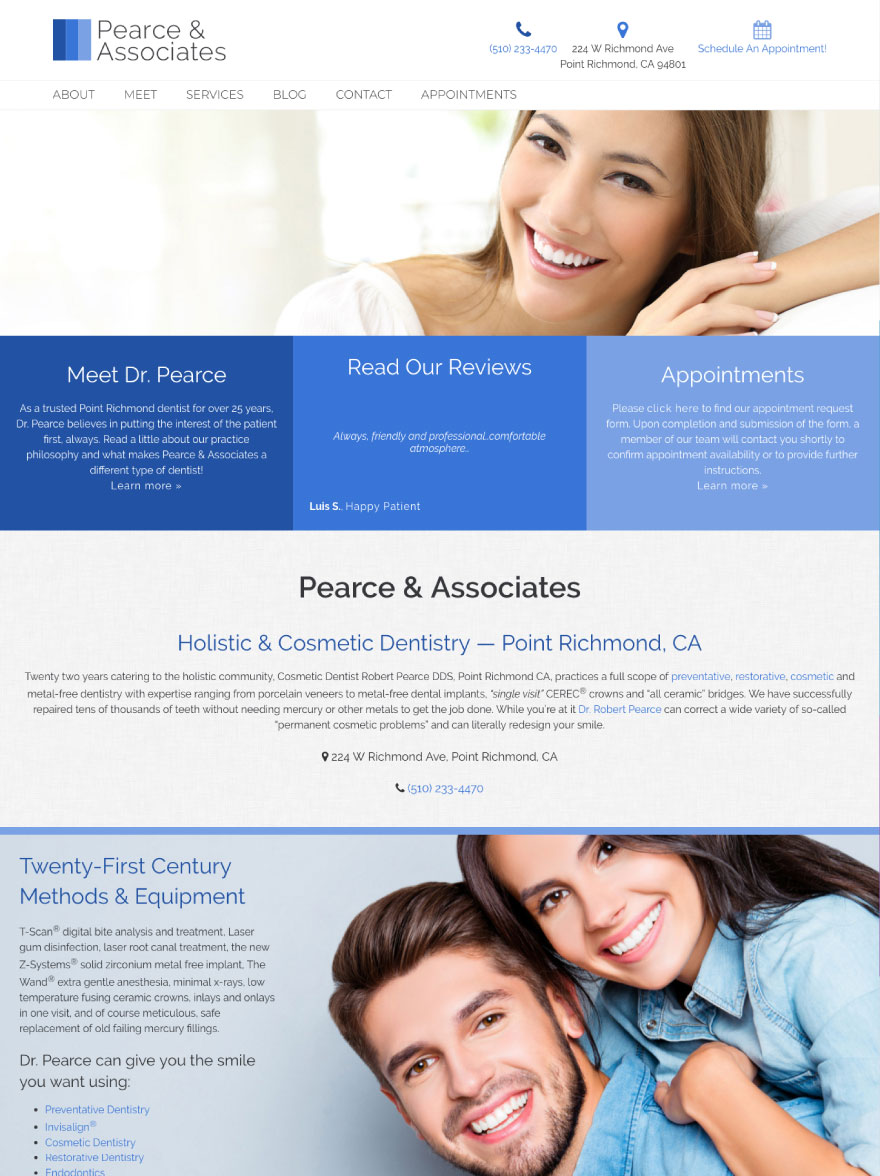 Robert Pearce & Associates Website